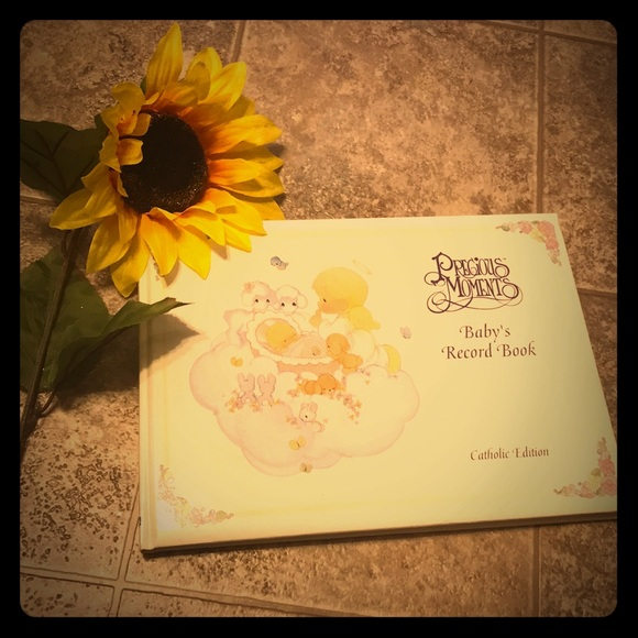 Precious Moments Other - Precious Moments Catholic Baby's Record Book